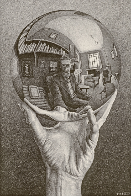 2 Hand with Reflecting Sphere