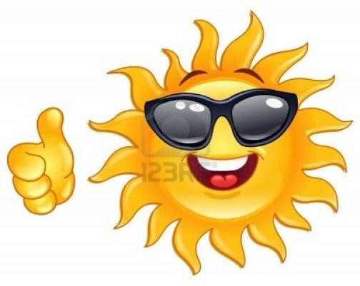 9735563-smiling-zon-met-duim-omhoog