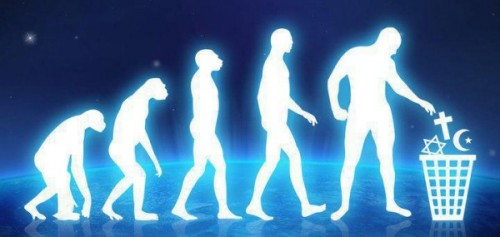 human-evolution-religion