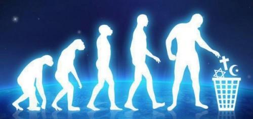 human-evolution-religion