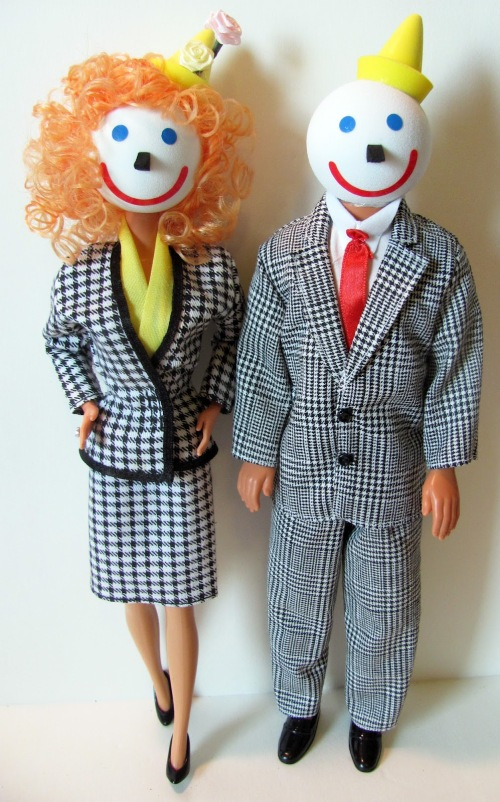 Jack in the Box dolls