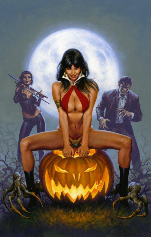 vampirella_halloween_special_2013_by_joejusko-d6f63o8